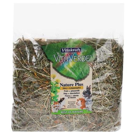 Купить Vitakraft луговое сено с цветами одуванчика для грызунов, 500 гр