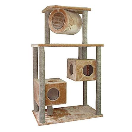 Дарэлл Когтеточка-комплекс для кошек, джут  - купить со скидкой