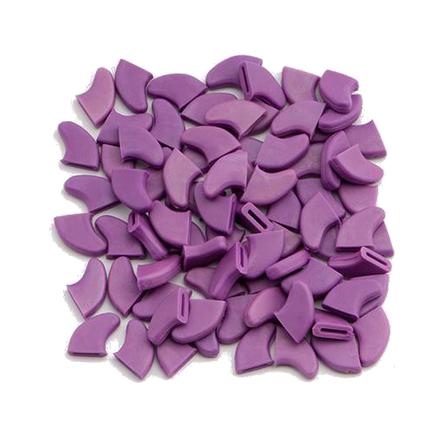 Glamour Сats накладные колпачки-антицарапки на когти кошек, фиолетовые