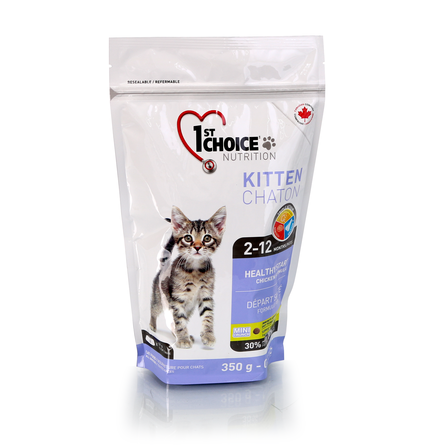 1st Choice Healthy Start Сухой корм для котят (с курицей), 350 гр фото