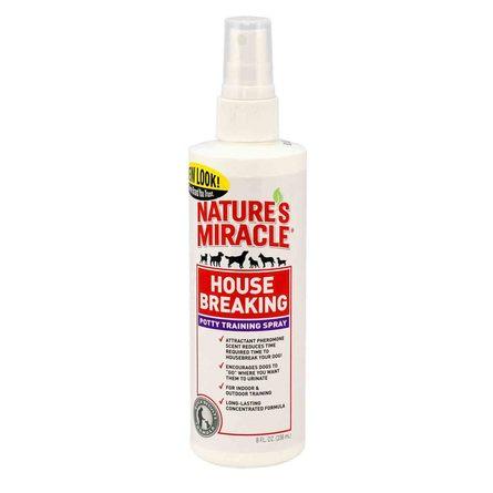 Купить Nature's Miracle House-Breaking Спрей для приучения собак к туалету, 236 мл, Nature's Miracle