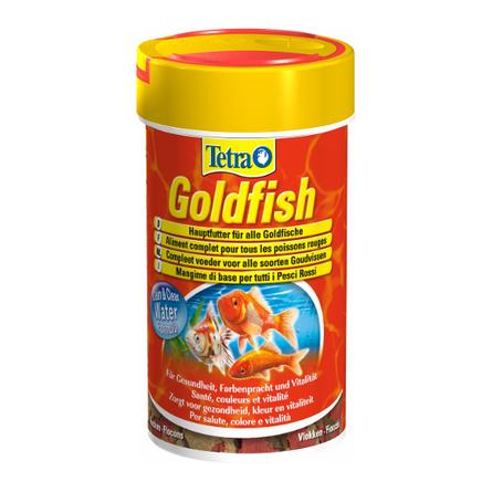 Купить Tetra GoldFish Основной корм для всех видов золотых рыбок, 100 мл