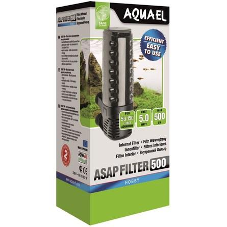 Купить Aquael Asap 500 Внутренний фильтр для аквариумов 50-150 л, 500 л/ч, Aqua El