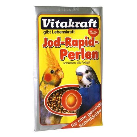 Купить Vitakraft Perls Подкормка для волнистых попугаев с йодом, 20 гр