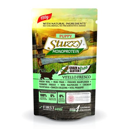 Stuzzy Monoprotein Влажный корм для щенков всех пород (со свежей телятиной), 150 гр фото