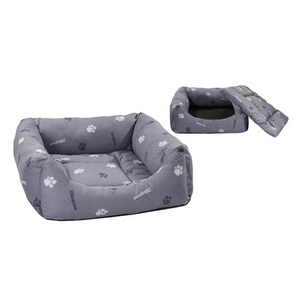 Купить Дарэлл Лежак квадратный пухлый с подушкой для собак и кошек, хлопок
