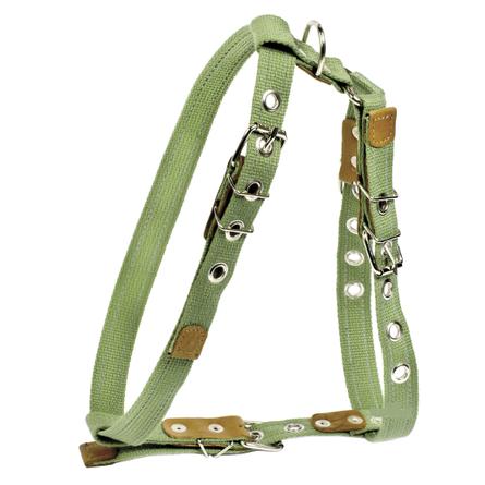Купить Collar Шлейка брезентовая с тесьмой для собак, обхват шеи 47-72, обхват груди 68-80 см, ширина 2, 5 см