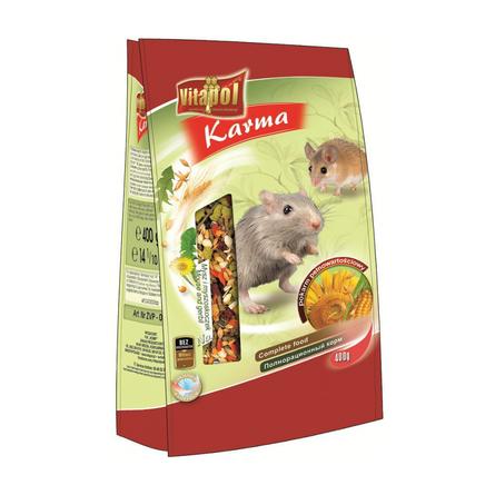 Vitapol Корм для мышей и песчанок, 400 гр