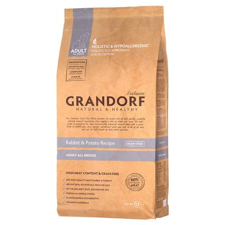 Купить Grandorf Rabbit & Potato Adult All Breeds Сухой корм для взрослых собак всех пород (с кроликом и картофелем), 12 кг