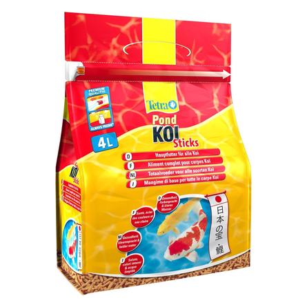 Купить Tetra Pond Koi Sticks основной корм для прудовых рыб, 4 л