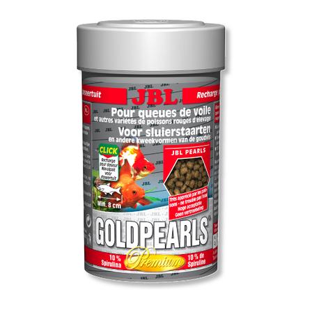Купить JBL GoldPearls Корм для золотых рыбок, гранулы, 100 мл