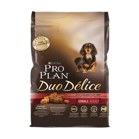 Купить Pro Plan DuoDelice Small Adult Сухой корм для взрослых собак мелких пород (с лососем и рисом), 700 гр