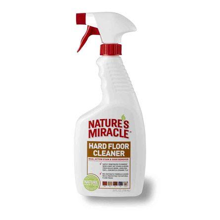 Nature's Miracle Dual Action Hard Floor Stain Уничтожитель пятен и запахов для всех видов полов, 709 мл