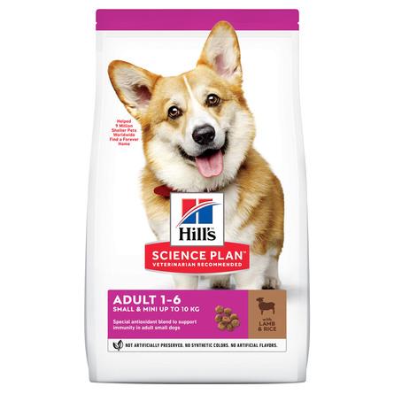 Hill's Science Plan Small & Miniature Сухой корм для взрослых собак миниатюрных и мелких пород (с ягненком), 1,5 кг фото