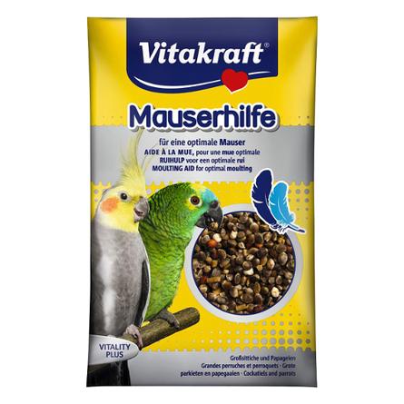 Купить Vitakraft Подкормка для средних и крупных попугаев в период линьки, 25 гр