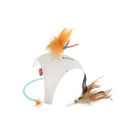 GiGwi PetDroid Feather Spinner Интерактивная игрушка для кошек фото