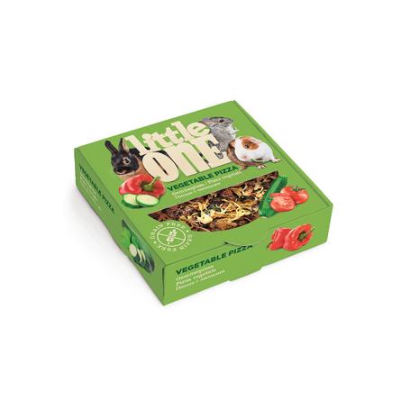Little One Пицца с овощами Лакомство для грызунов (с овощами), 55 гр фото