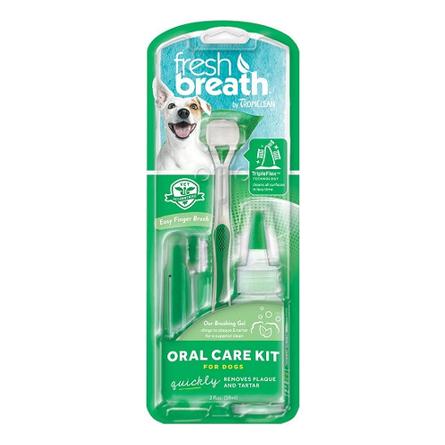 Tropiclean Fresh Breath Набор для ухода за зубами