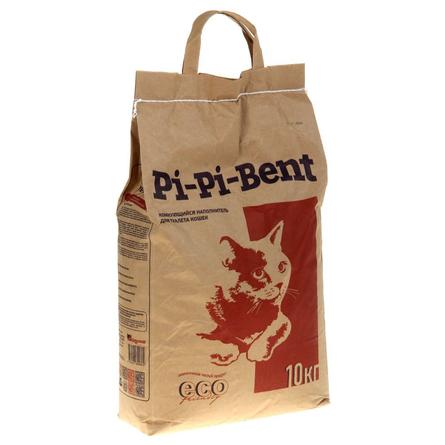 Купить Pi-Pi Bent Комкующийся глиняный наполнитель для кошек, 10 кг