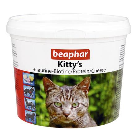 Купить Beaphar Kitty's Mix Витаминизированное лакомство для кошек (дополнительный комплекс), 750 таблеток