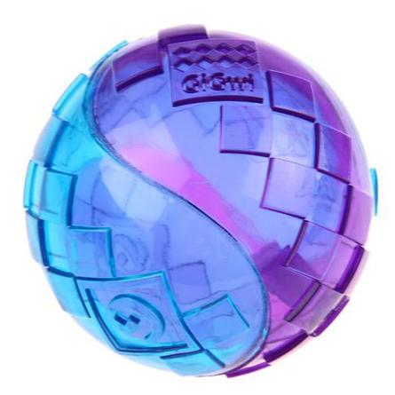 GiGwi Игрушка для собак, два мяча с пищалками