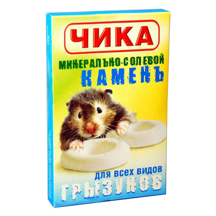 Чика Минеральный камень для грызунов, 20 гр