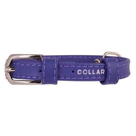 Купить Collar Ошейник для собак, Collar Glamour , без украшений, ширина 1, 2 см, длина 21-29 см, фиолетовый