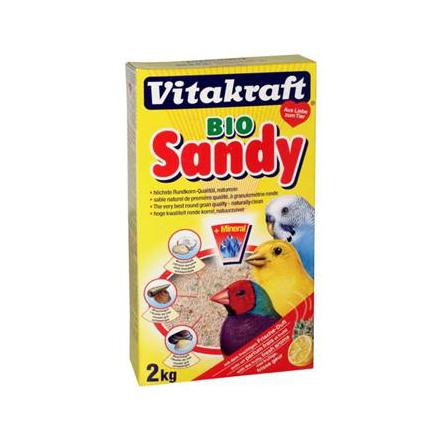 Купить Vitakraft BIO SANDY Биопесок-наполнитель для птичьих клеток, 2 кг