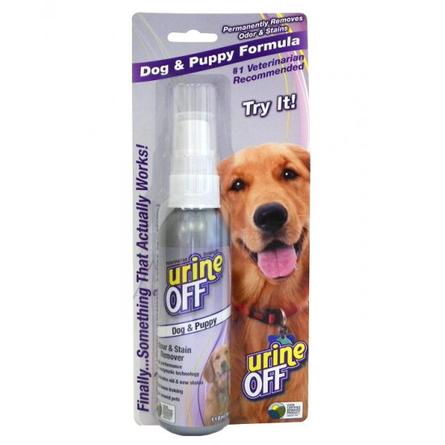 Urine Off Средство для уничтожения пятен и запаха, 118 мл