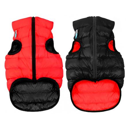 Collar AiryVest Курточка двухсторонняя для собак, красно-черная
