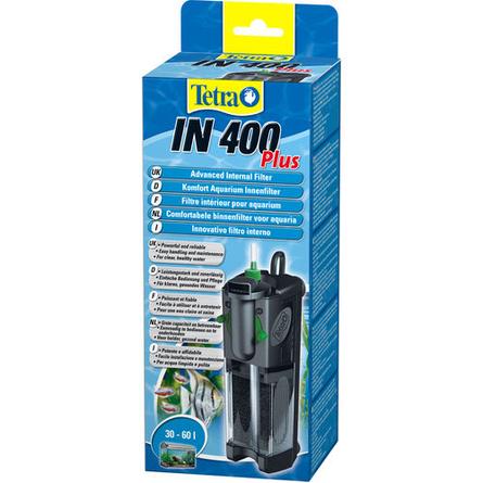 Купить Tetra IN 400 Plus Внутренний фильтр для аквариума 30-60 л, 400 л/ч