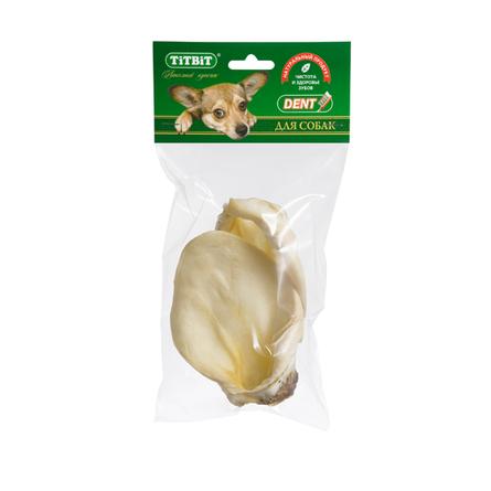 Купить TiTBiT Ухо телячье для взрослых собак средних пород