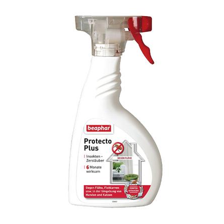 Beaphar Protecto Plus Спрей для обработки помещений от паразитов, 400 мл