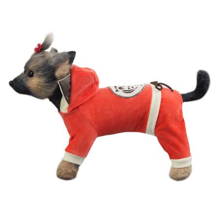 Купить DogModa Комбинезон Сова для собак, длина спины 24 см, обхват шеи 25 см, обхват груди 39 см
