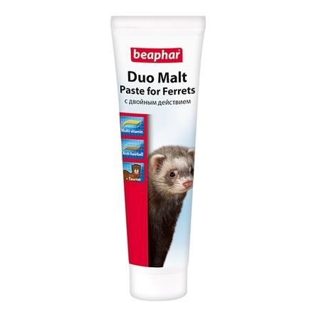 Beaphar Multi-Vitamin/Malt Paste for Ferrets Лакомство для хорьков (для вывода шерсти), 100 гр