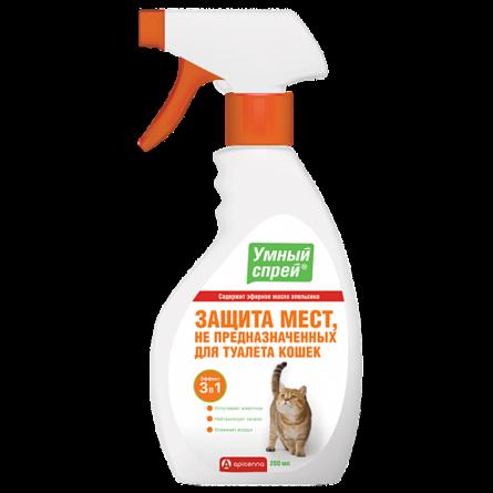 УМНЫЙ СПРЕЙ Защита мест не предназначенных для туалета кошек, 200 мл