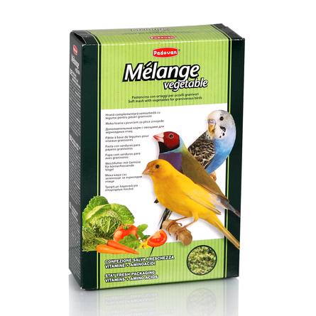 Купить Padovan Melange Vegetable Дополнительный корм для декоративных птиц, 300 гр