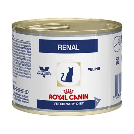 Купить Royal Canin Renal Влажный лечебный корм для кошек при заболеваниях почек, 200 гр