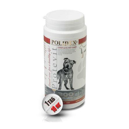 Купить Polidex Protevit plus Кормовая добавка для собак при повышенных физических нагрузках, 300 таблеток, Полидекс