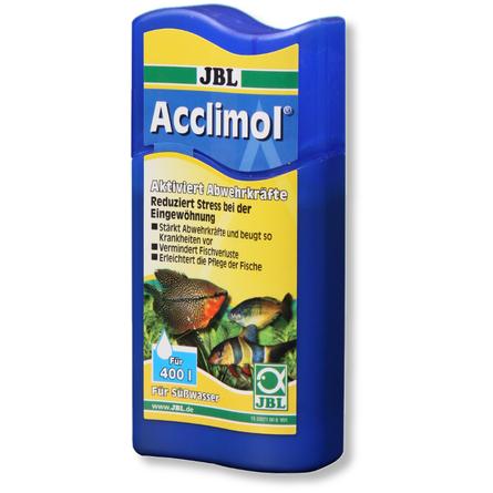 JBL Acclimol Кондиционер для акклиматизации рыб в пресноводном аквариуме, 100 мл