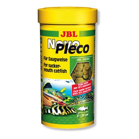 JBL NovoPleco Корм для донных рыб, чипсы, 100 мл фото